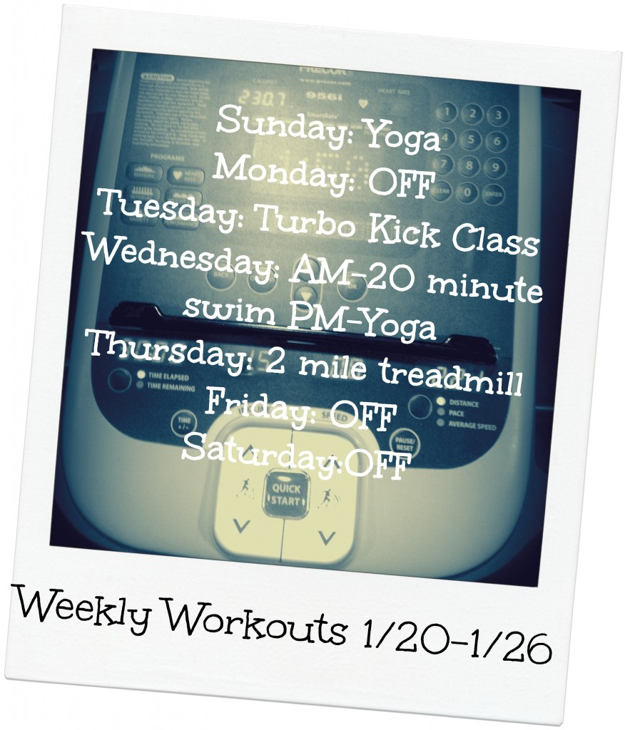weekly workouts 1_26