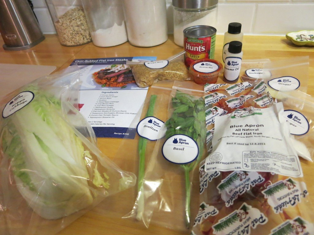 Blue apron recipes