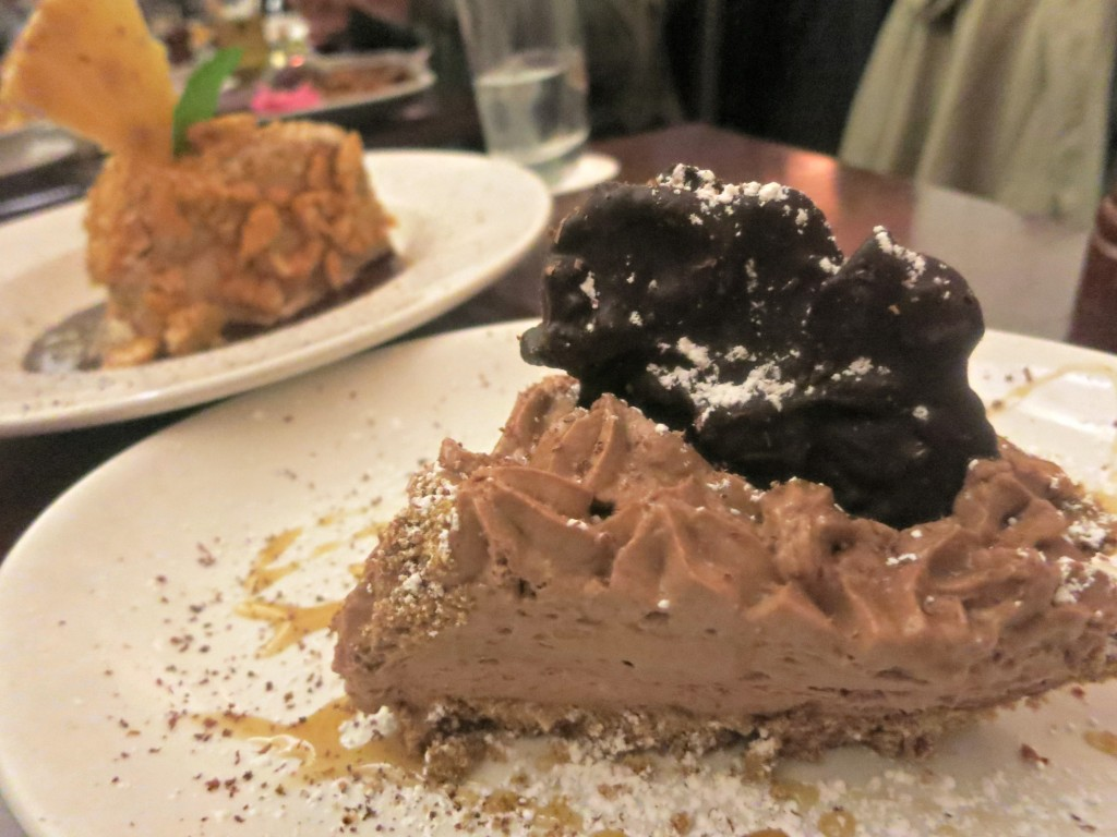Chocolate Mousse Pie at Chicago q