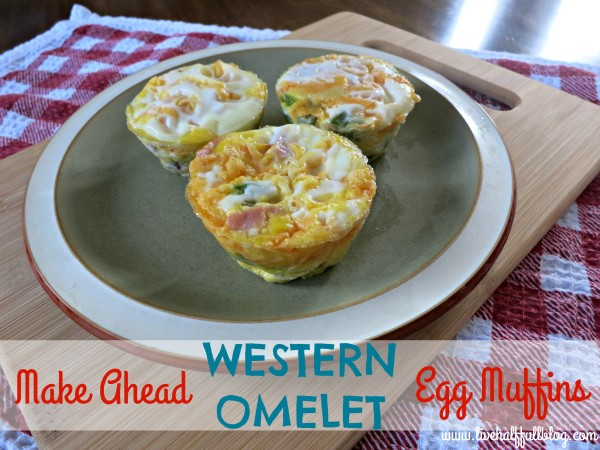 Make Ahead Western Omelet Egg Muffins