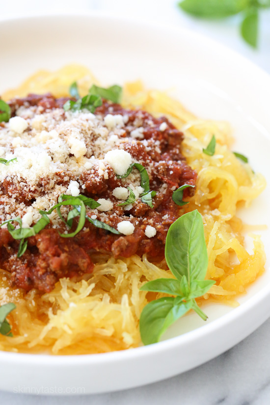 pressure-cooker-spaghetti-squash-and-meat-sauce