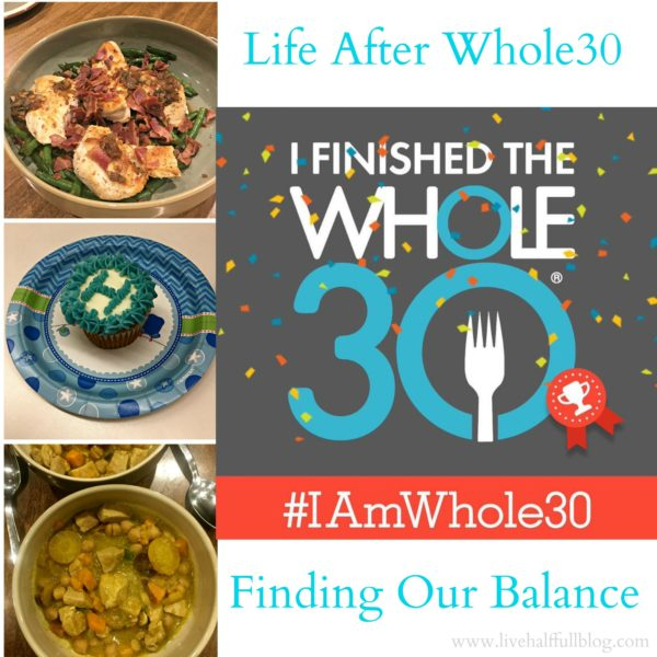 Whole30 Reintroduction
