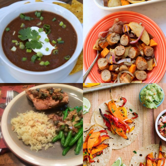four easy weeknight meals for fall